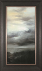 Clare Haley, Original oil painting on panel, Night and Day