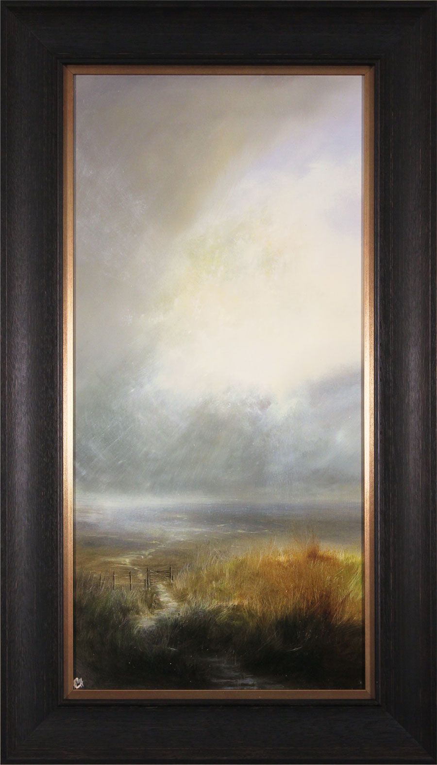 Clare Haley, Original oil painting on panel, Lightburst, click to enlarge