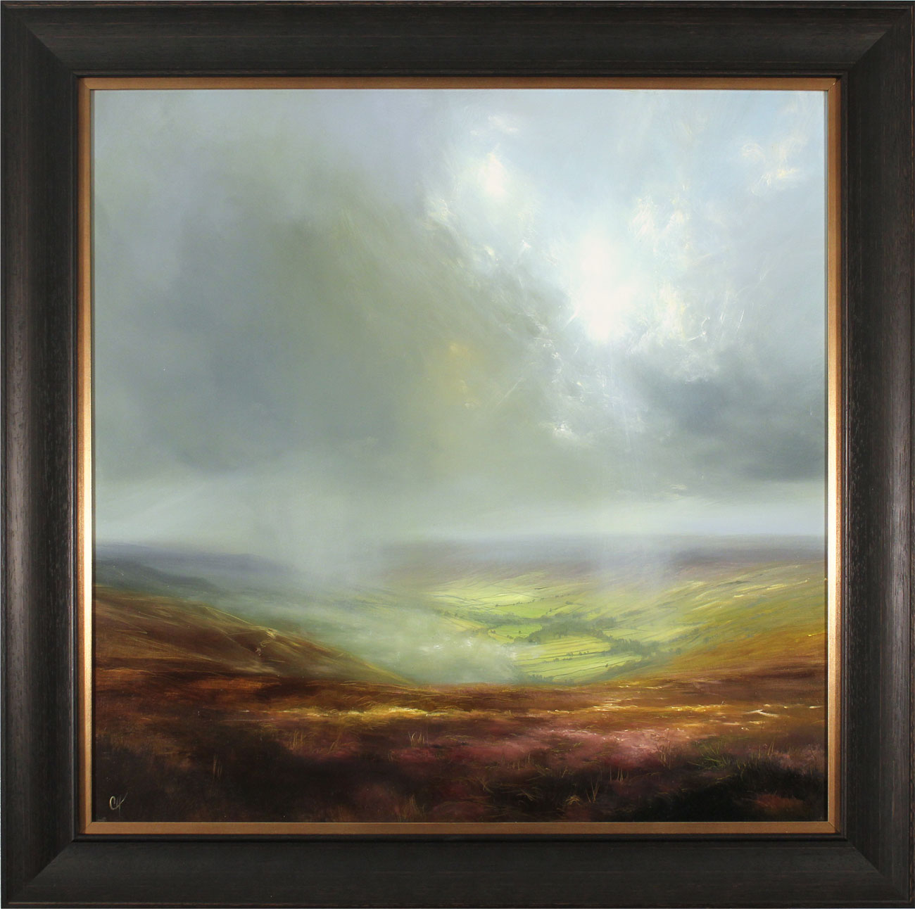 Clare Haley, Original oil painting on panel, A Yorkshire Moment, click to enlarge