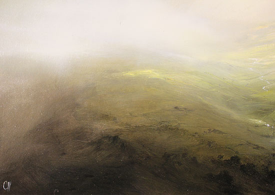 Clare Haley, Original oil painting on panel, Valley of Light Signature image. Click to enlarge