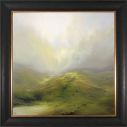 Clare Haley, Original oil painting on panel, A Fine Yorkshire Day