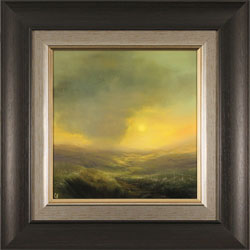 Clare Haley, Original oil painting on panel, Warmth in the Air Large image. Click to enlarge