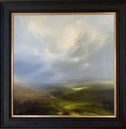 Clare Haley, Original oil painting on panel, Yorkshire Drift Large image. Click to enlarge