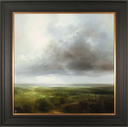 Clare Haley, Original oil painting on panel, Always Head North Large image. Click to enlarge