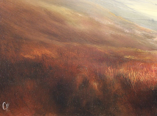 Clare Haley, Original oil painting on panel, Yorkshire Day, All the Way Signature image. Click to enlarge