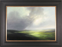 Clare Haley, Original oil painting on panel, Yorkshire, Lost in Shadow