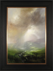 Clare Haley, Original oil painting on panel, Call of the Wild Large image. Click to enlarge