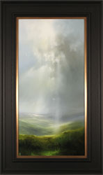 Clare Haley, Original oil painting on panel, Misty Morning Air