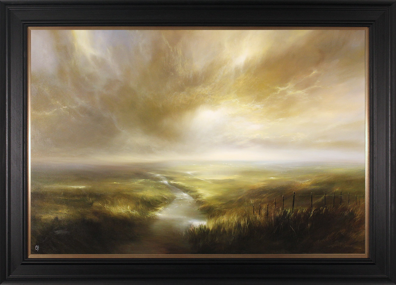 Clare Haley, Original oil painting on panel, In the Light of the Morning Sun, click to enlarge