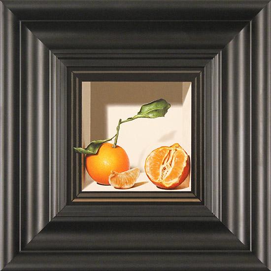 Colin Wilson, Original acrylic painting on board, Sicilian Oranges
