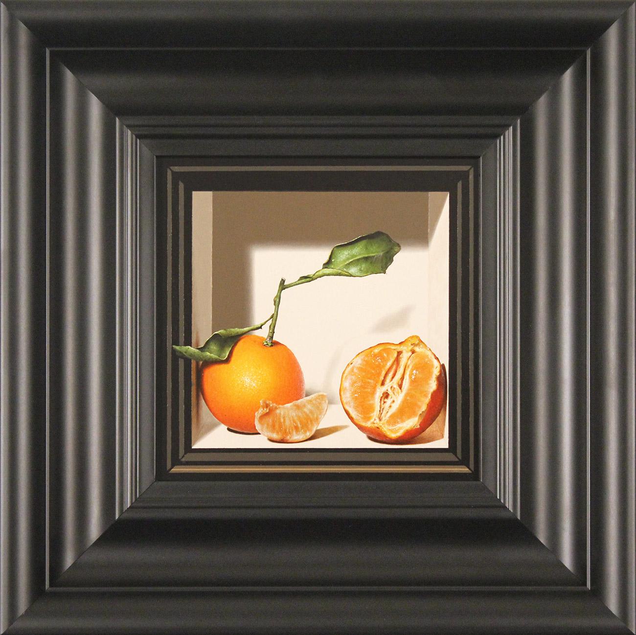Colin Wilson, Original acrylic painting on board, Sicilian Oranges , click to enlarge