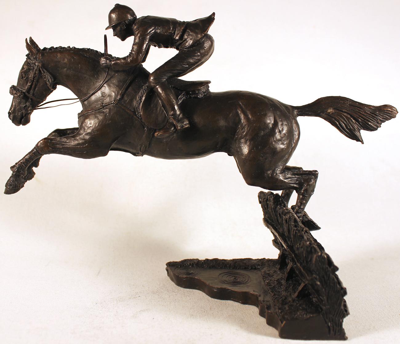 David Geenty, Bronze, The Water Jump. Click to enlarge