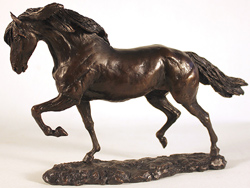David Geenty, Bronze, Andalusian Large image. Click to enlarge