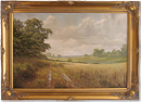 David Dipnall, Original oil painting on canvas, Afternoon Glory
