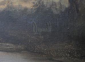 David Dipnall Original Oil Painting