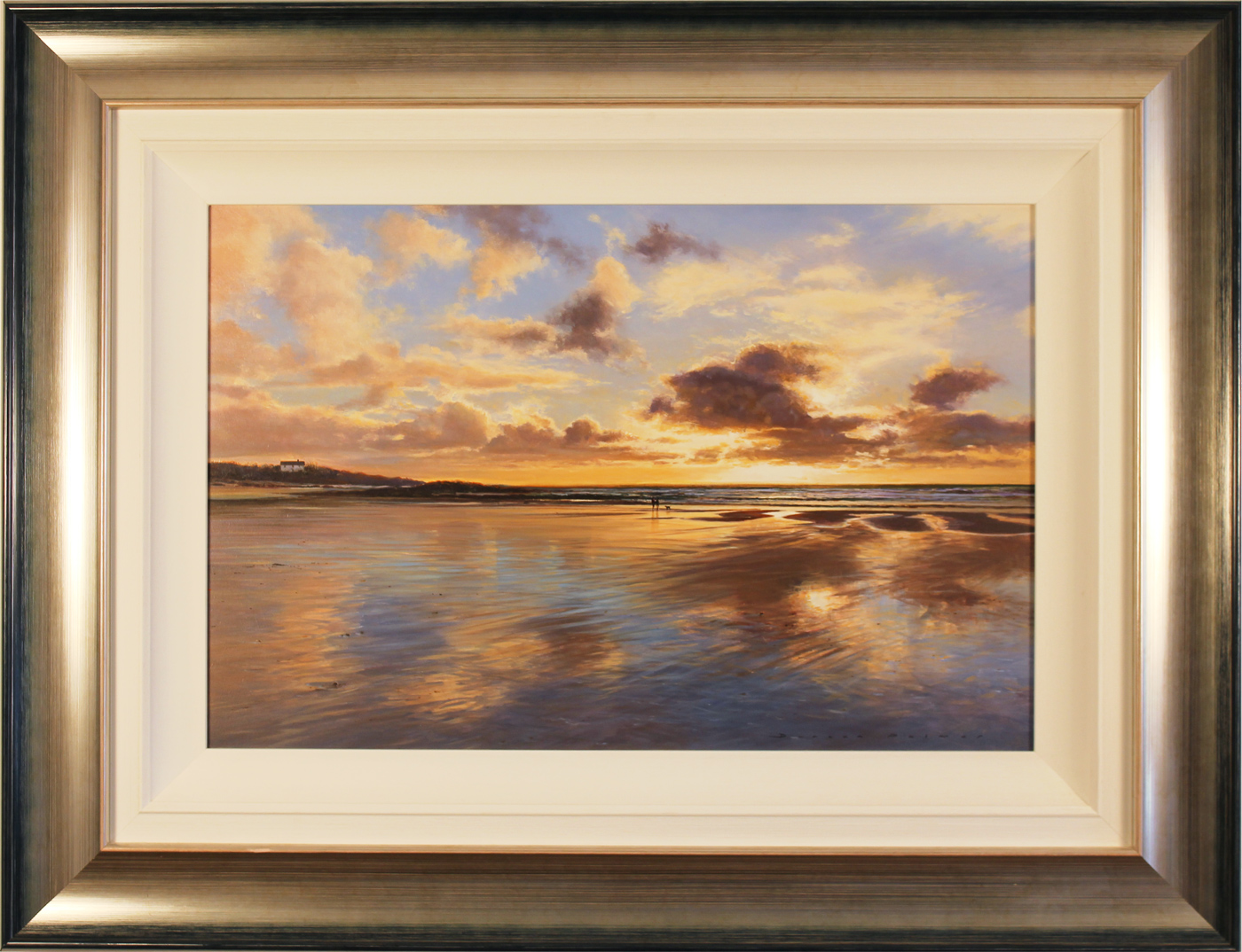 Duncan Palmar, Original oil painting on panel, Constantine Bay, Cornwall . Click to enlarge