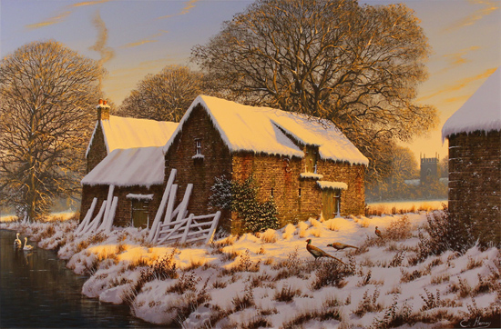 Edward Hersey, Original oil painting on canvas, First Light