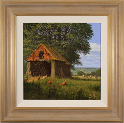 Edward Hersey, Original oil painting on canvas, Views of the Vale