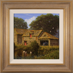 Edward Hersey, Original oil painting on canvas, Long Days of Summer