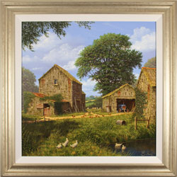 Edward Hersey, Original oil painting on canvas, Days Gone By Large image. Click to enlarge