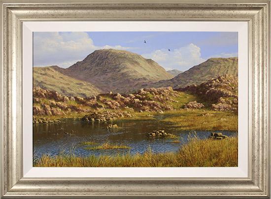 Edward Hersey, Original oil painting on panel, Summer's Glory, Innominate Tarn