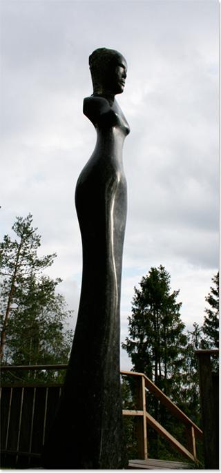 Fredrik K.B, Larvikite Emerald Pearl, Melusine No frame image. Click to enlarge