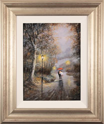 Gordon Lees, Original oil painting on panel, Love's Light Large image. Click to enlarge