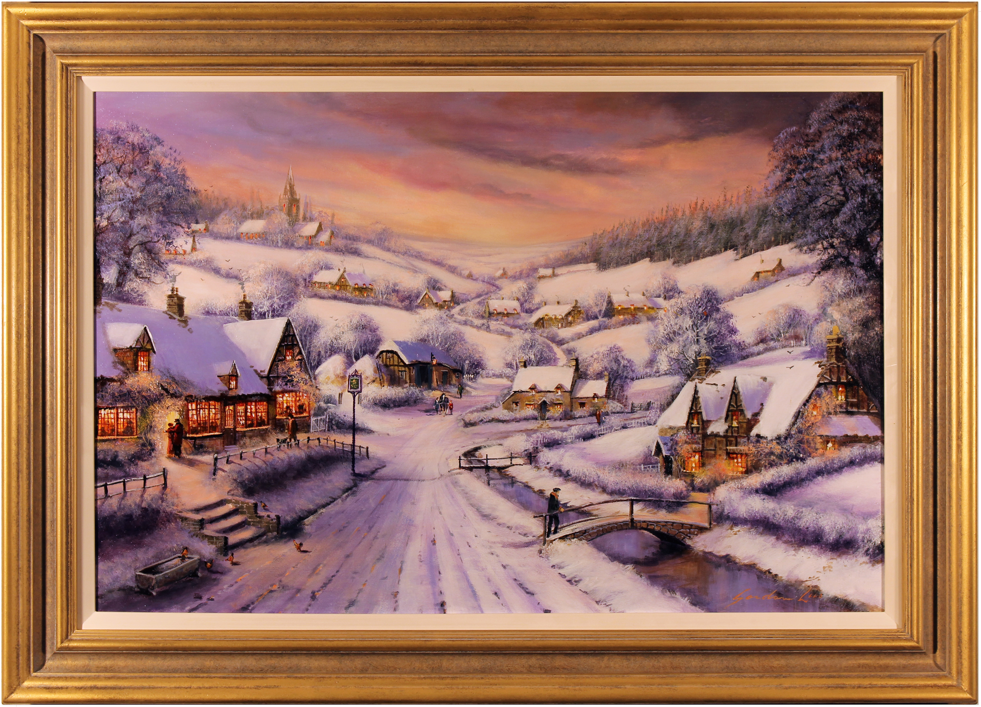 Snow Painting Oil