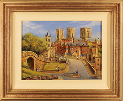 Gordon Lees, Original oil on canvas, The City of York