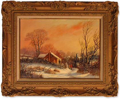 Gordon Lindsay, Original oil painting on canvas, Untitled Without frame image. Click to enlarge