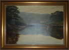 Graham Petley, Oil on canvas, 'Tide In' St Just, Roseland Large image. Click to enlarge