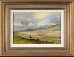Howard Shingler, Original oil painting on panel, North Highlands