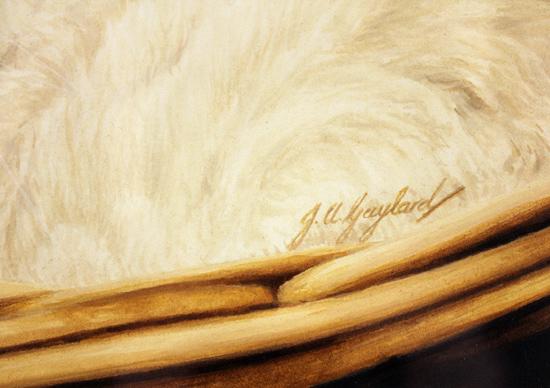 Jacqueline Gaylard, SOFA, Original acrylic painting on board, Willow Signature image. Click to enlarge