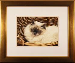 Jacqueline Gaylard, SOFA, Original acrylic painting on board, Willow Large image. Click to enlarge