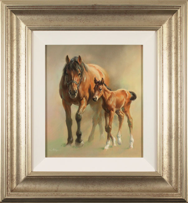 Jacqueline Stanhope, Original oil painting on canvas, An Unbreakable Bond