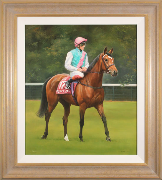 Jacqueline Stanhope, Original oil painting on canvas, Enable