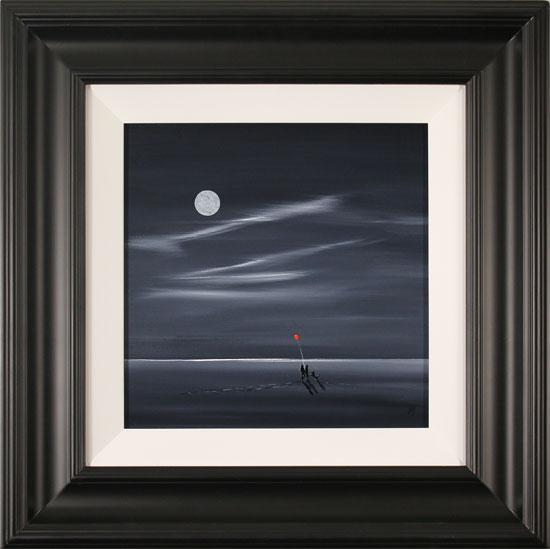 Jay Nottingham, Original oil painting on panel, Shoreline Stroll