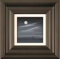 Jay Nottingham, Original oil painting on panel, Moonlight Meeting Large image. Click to enlarge