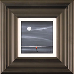 Jay Nottingham, Original oil painting on panel, Moonlight Kiss Large image. Click to enlarge