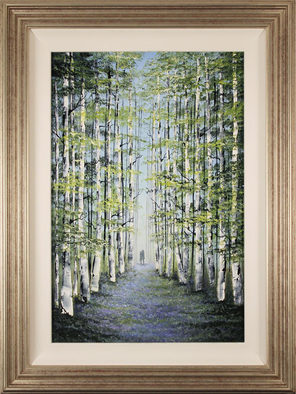 Jay Nottingham, Original oil painting on panel, Woodland Wander. Click to enlarge