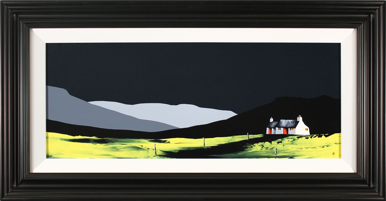 Jay Nottingham, Original oil painting on panel, Swaledale Cottage, Yorkshire. Click to enlarge