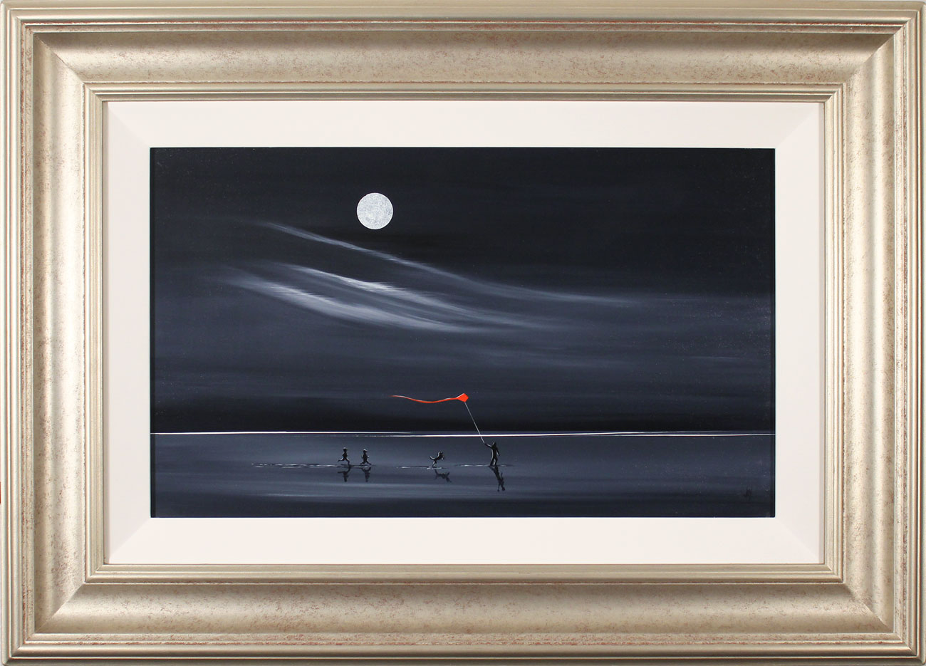 Jay Nottingham, Original oil painting on panel, Can't Catch Me!, click to enlarge