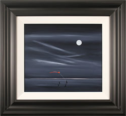 Jay Nottingham, Original oil painting on panel, Midnight Kite