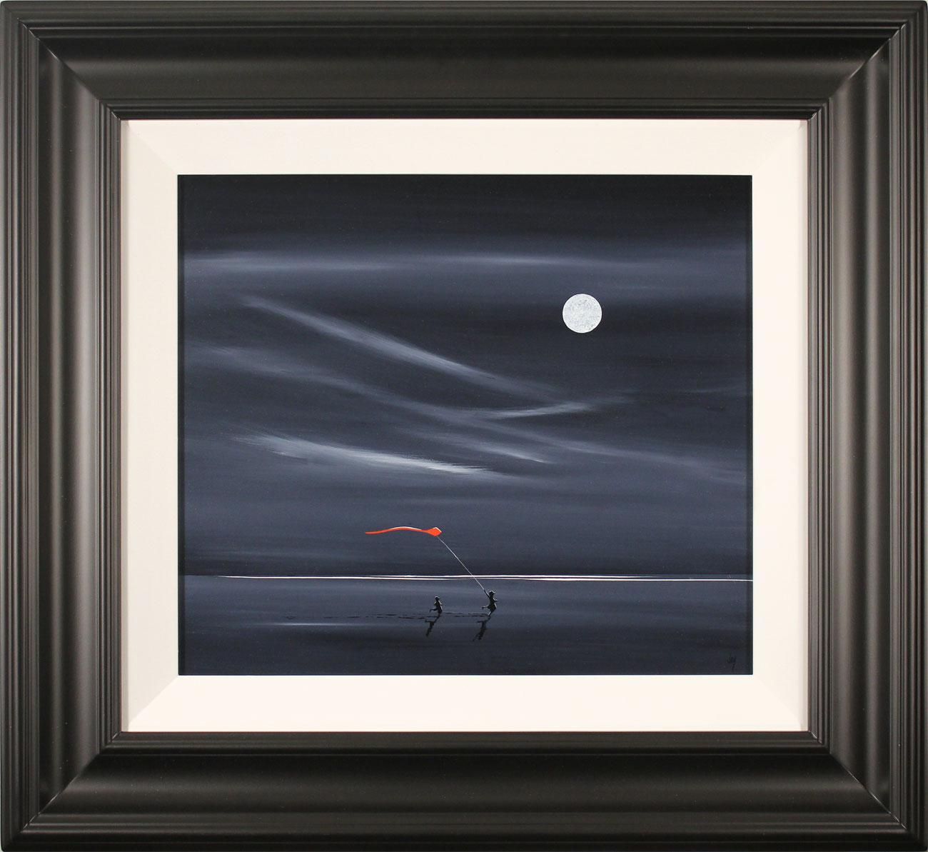 Jay Nottingham, Original oil painting on panel, Midnight Kite, click to enlarge