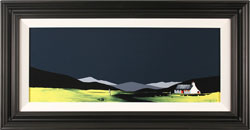 Jay Nottingham, Original oil painting on panel, Nestling Cottage Large image. Click to enlarge