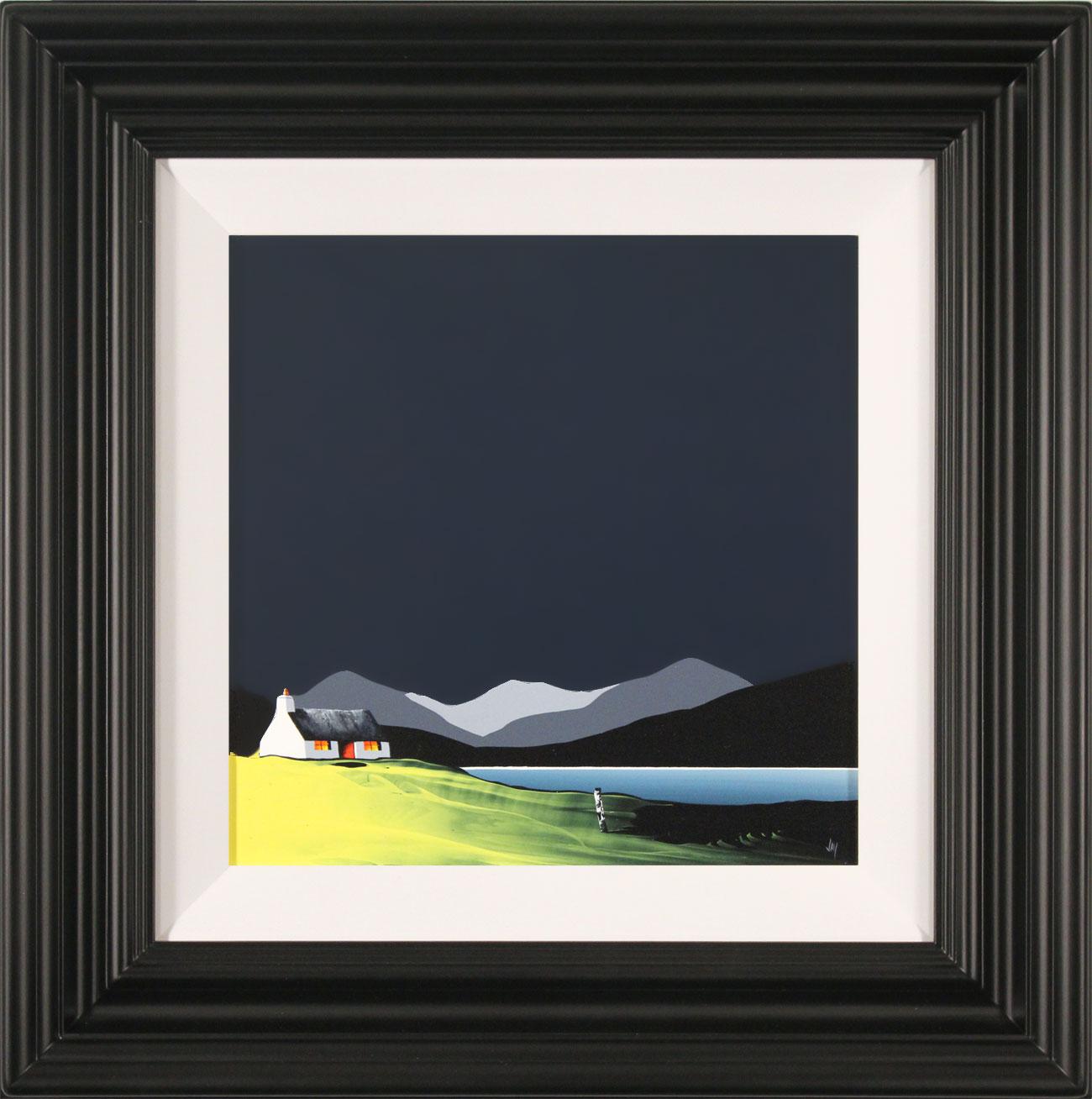 Jay Nottingham, Original oil painting on panel, Slate Cottage, click to enlarge