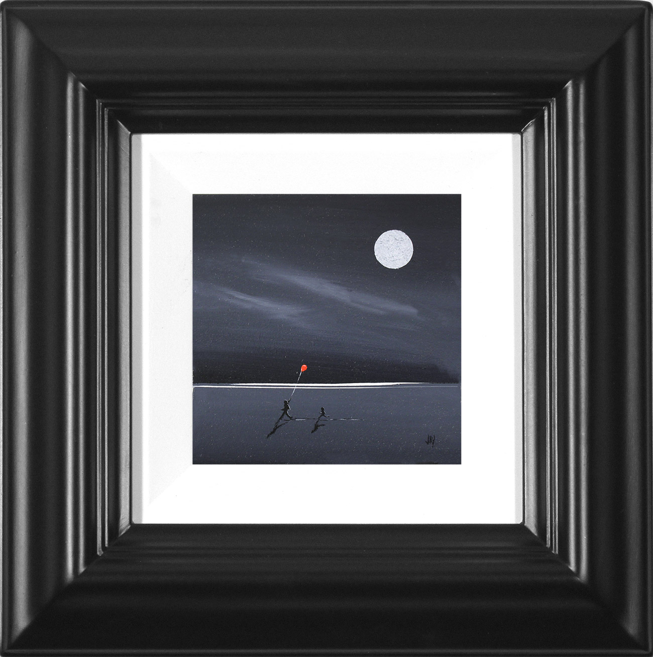 Jay Nottingham, Original oil painting on panel, The Red Balloon , click to enlarge