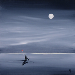 Jay Nottingham, Signed limited edition print, Moonlight Stroll Large image. Click to enlarge