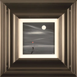 Jay Nottingham, Original oil painting on panel, Moonlight Sweethearts Large image. Click to enlarge
