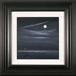 Jay Nottingham, Moonlight Stroll, Original oil painting on panel